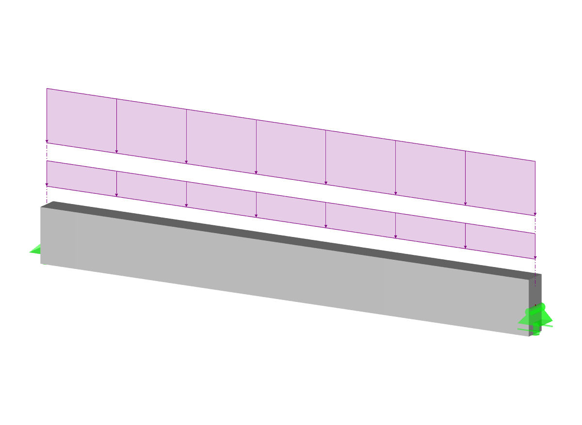 Reinforced Concrete Beam with Rectangular Cross-Section