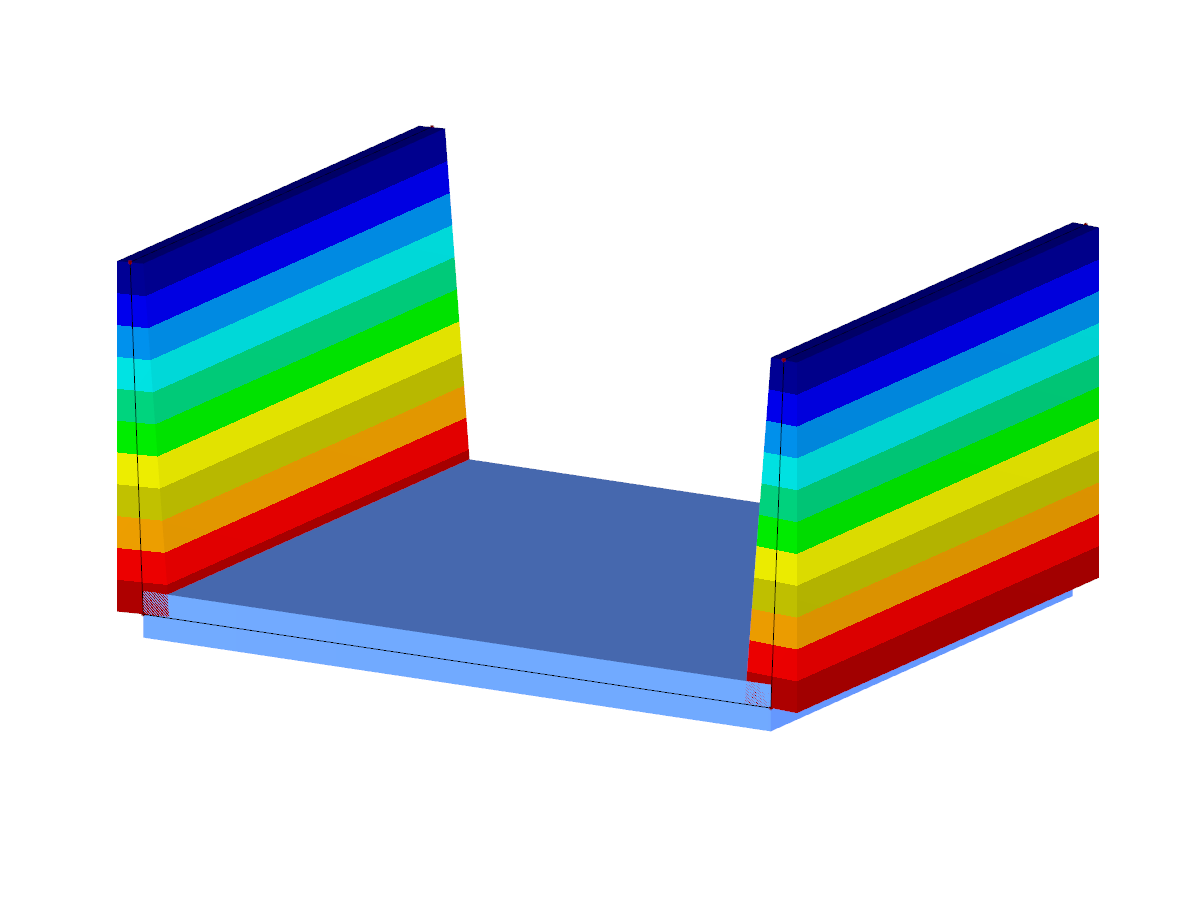 Component with variable surface thicknesses