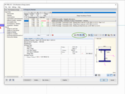 Filter option for detailed results in RF-STEEL EC3