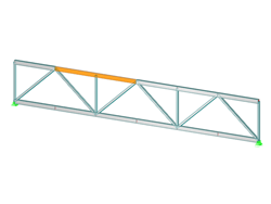 Truss Girder with Connections
