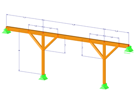 Parameterized Timber Purlin