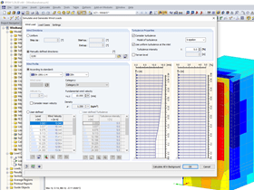 Wind Description in Interface with RWIND Simulation