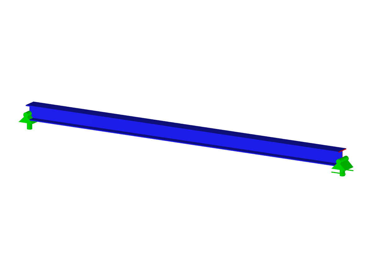 Single span beam