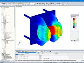 Trunnion with Shear Load in RFEM (© AGICEA)