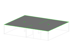 Concrete Slab with Elastic Support