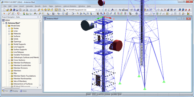 Towers & Masts Add-on Modules | Dlubal Software