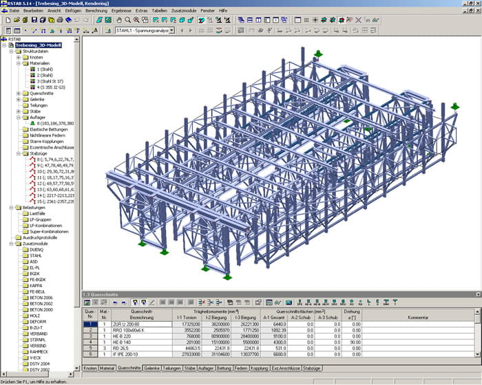 Tunnel Formwork In Trebesing Austria Dlubal Software
