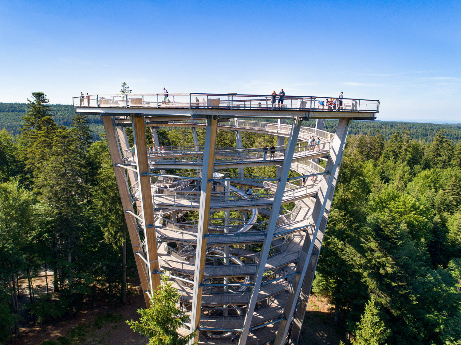 Look-out tower in Bad Wildbad (Source: Erlebnis Akademie AG)