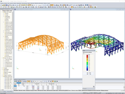Analysis and Design for a GL24h Laminated Wood Hangar Structure