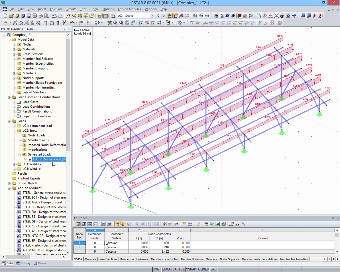 Structural Analysis Of Supporting Structures For Solar