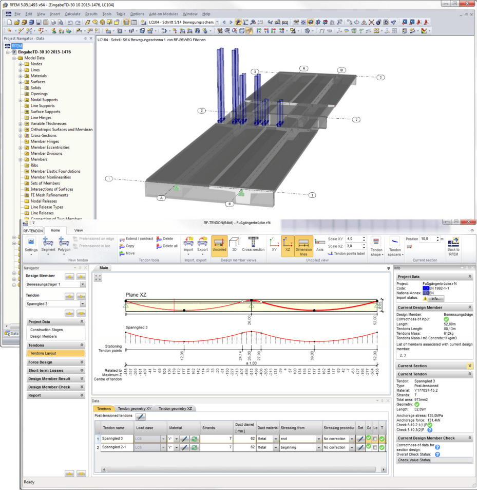 Progettare Un Ponte.Progetto Di Strutture In C A Precompresso Secondo Le Din En