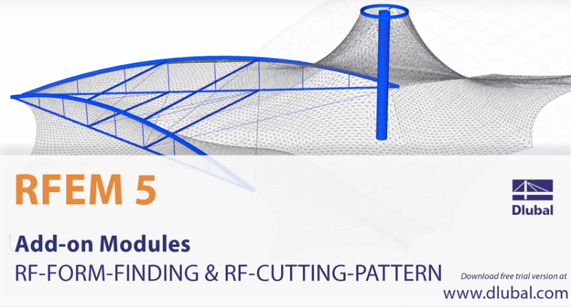 Wideo dla RF-FORM-FINDING i RF-CUTTING-PATTERN