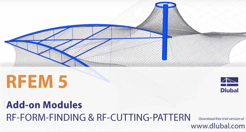 Video RF-FORM-FINDING & RF-CUTTING-PATTERN