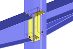 Module additionnel de RFEM/RSTAB RF-/FRAME-JOINT Pro | Joints de portique rigide en flexion selon EC 3