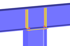 RF-/JOINTS Steel - Rigid Add-on Module for RFEM/RSTAB | Rigid Joints According to EC 3
