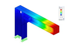 RFEM Add-on Module RF-MAT NL | Application of Nonlinear Material Laws