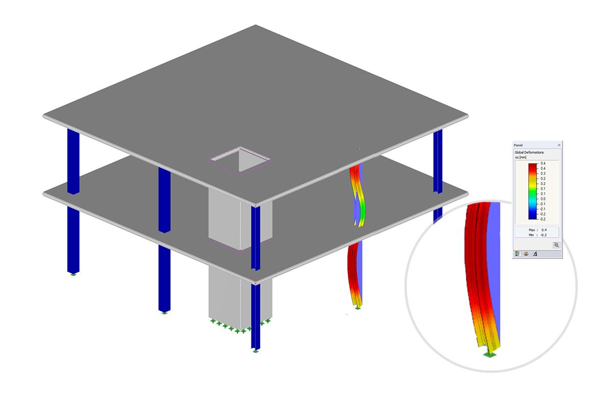 baustatik software f r stahlbau dlubal software. Black Bedroom Furniture Sets. Home Design Ideas