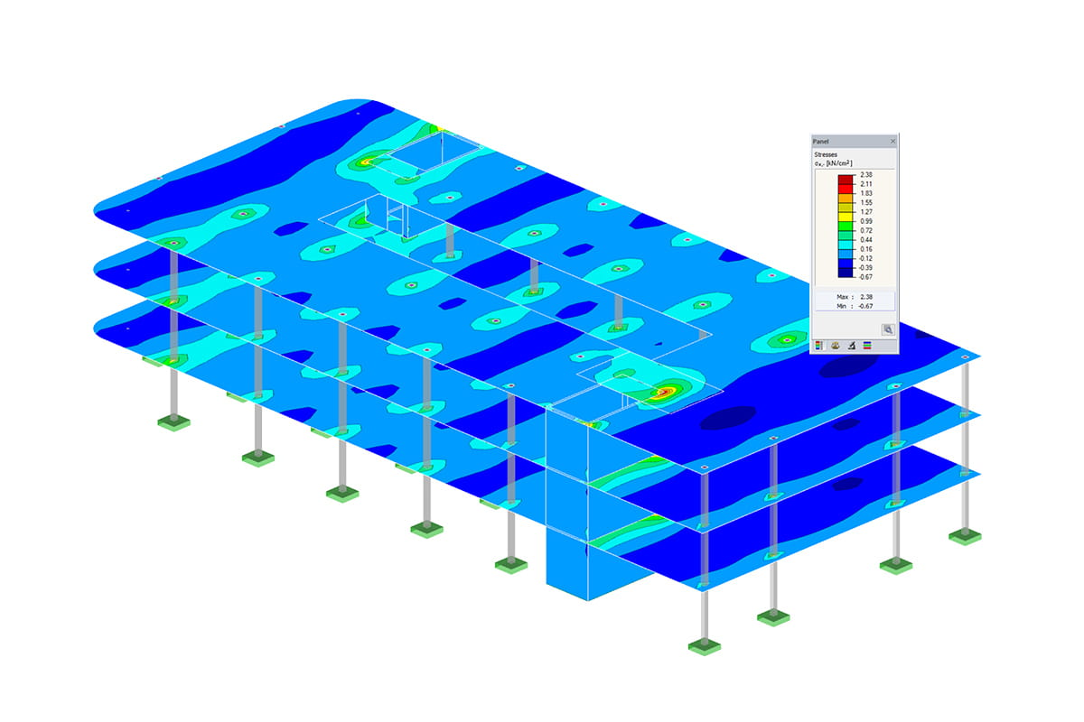 RFEM add-on module RF-CONCRETE | Reinforced concrete design of members and surfaces (RFEM)