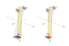 Módulo adicional RF-TENDON Design do RFEM