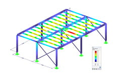 Módulo adicional RF-/STEEL AS do RFEM/RSTAB