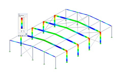 Módulo adicional RF-/STEEL GB do RFEM/RSTAB