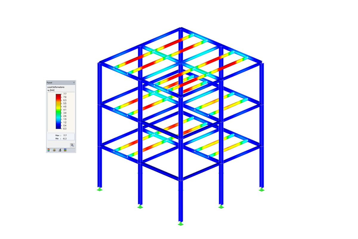 Module additionnel de RFEM/RSTAB RF-/STEEL Plastic | Vérification plastique de sections