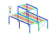 Módulo adicional RF-/STEEL SP do RFEM/RSTAB