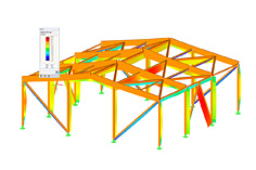 Module additionnel de RFEM/RSTAB RF-/TIMBER Pro | Vérification des barres en bois selon EC 5 ou SIA 265