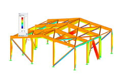 RFEM/RSTAB add-on module RF-/TIMBER Pro | Design of timber members according to EC5 lub SIA 265
