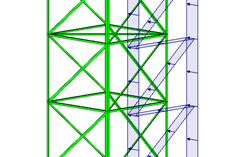 RFEM/RSTAB add-on module RF-/TOWER Loading | Generation of Wind, Ice and  Variable Loads for Lattice Towers