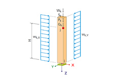 Stand-alone program RX-TIMBER Columns