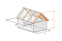 Stand-alone program RX-TIMBER Roof | Timber Rooftops