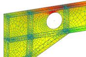 Finite elemente berechnung fem dlubal software for Statik der stabtragwerke