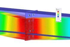 Surface analysis of girder joint