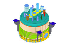 RFEM model of industrial filter device © www.ifs-peter-partner.com