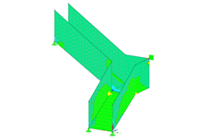 Structural Engineering Software For Analysis Design Of Stairway Structures Dlubal Software