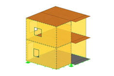 Structural analysis program RFEM - Timber structure