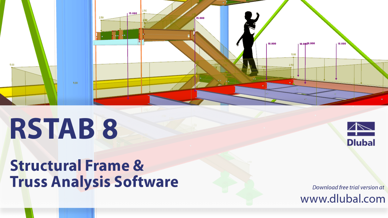 Dlubal RSTAB 8 - Introduction to the Structural Frame and Truss Analysis Software