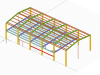 Structural Analysis of Steel Structures by Using RFEM 5