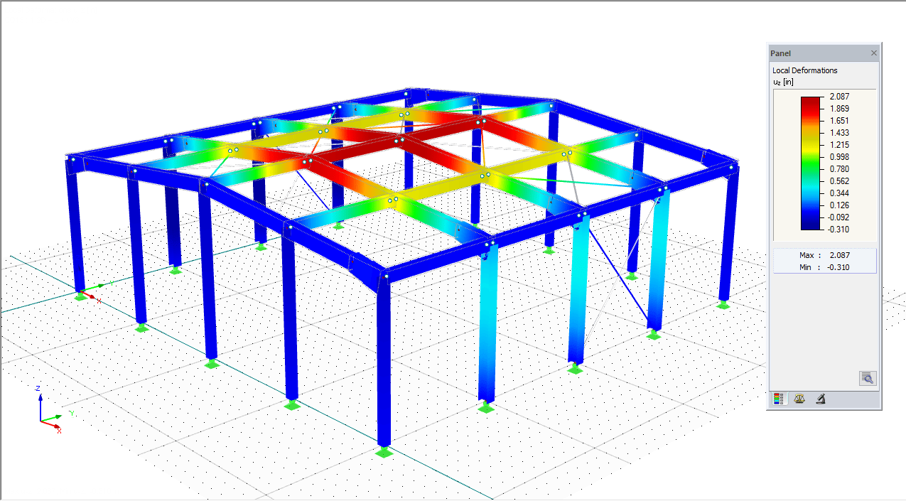 AISC 360-10 Steel Member Design in RFEM