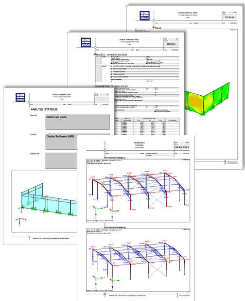 Paramétrage et documentation des notes de calcul dans RFEM/RSTAB