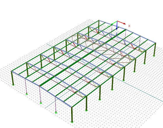 webinaire conception et calcul de structure m tallique avec rfem dlubal software. Black Bedroom Furniture Sets. Home Design Ideas
