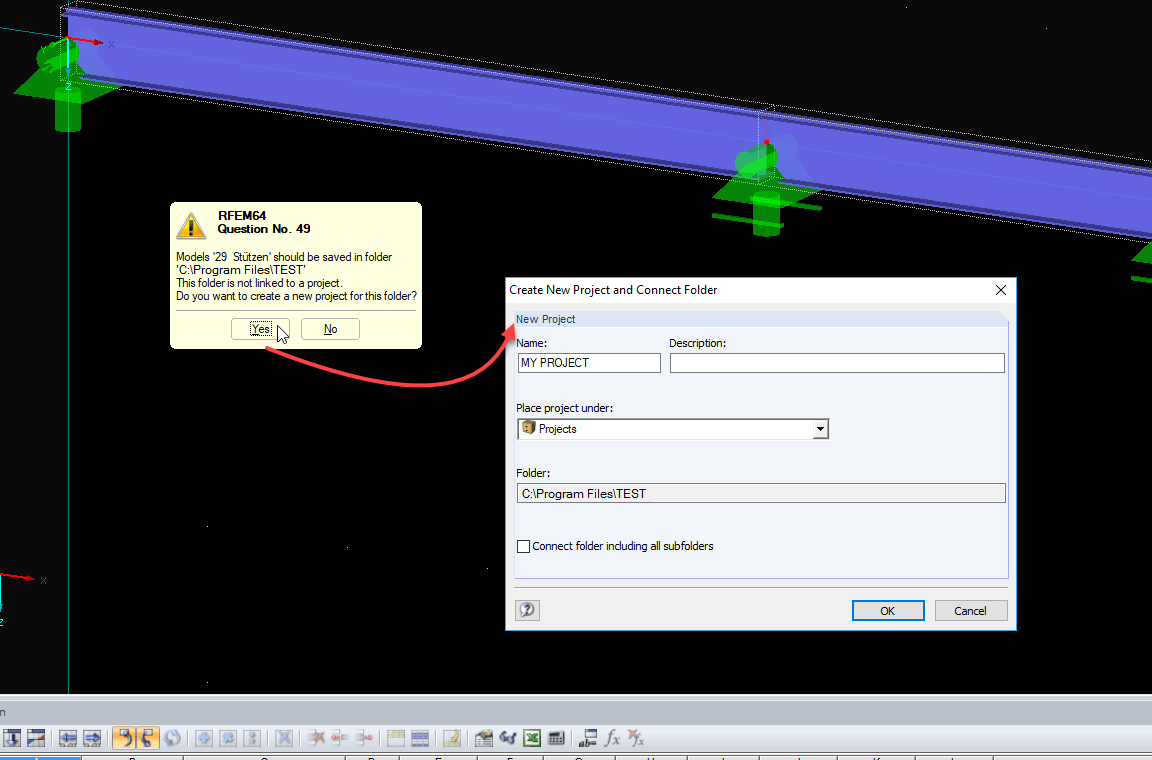 RFEM Query and Connect Option