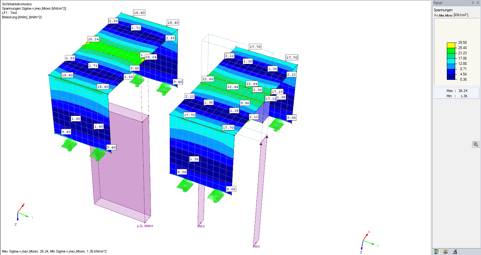 Considering Stiffness of Adjacent Structural Components