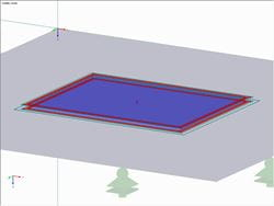 Additional Border Around Reinforcing Plate and Base Plate