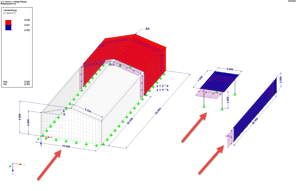 Windkraft Infolge Reibung Dlubal Software